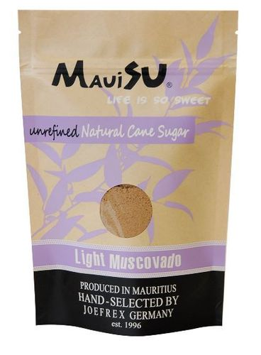 MauiSu Rohrzucker Light Muscovado, 500 Gramm