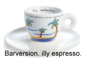 Illy collection Bartasse 1996  - Lucca Trazzi Beach Plaza Espressotasse