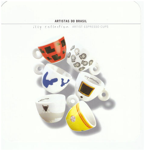 illy collection 2001 - Artistas do Brasil, Espressotassen