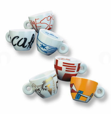 illy collection 1999 Minimalia Sonderedition Paladino