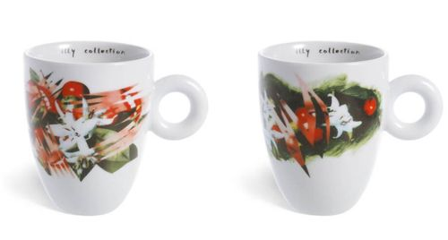 illy collection 2003 coffee flowers ideas - James Rosenquist