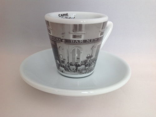 New York Espressotasse, Motiv Bar 1930