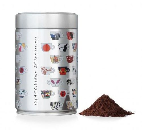 illy Espresso tostatura scura, Sonderedition 25 Jahre illy art collection, 250 Gramm Künstlerdose
